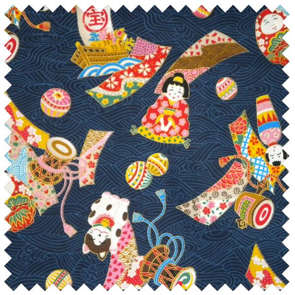 Oriental Cat Fabric