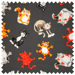 Alley Kat Feline Frenzy-Gray