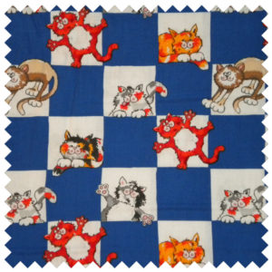 Alley Cat Checkerboard Kitties