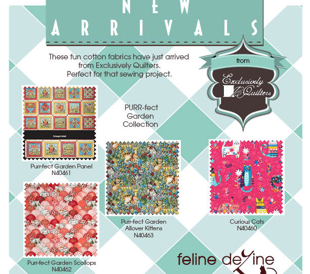 Just Arrived from Exclusively Quilters