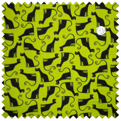 Eerie Alley Cats-Lime