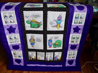 Pickles Quilt by Mary Ann